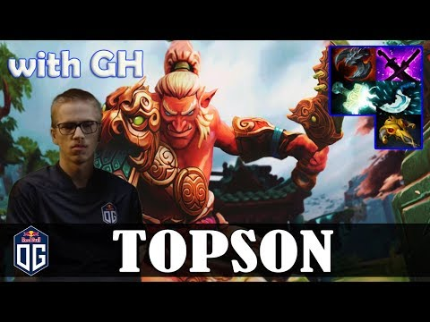 Topson - Troll Warlord MID | with GH (IO) | Dota 2 Pro MMR Gameplay thumbnail