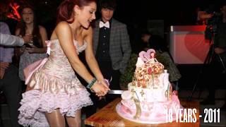 ARIANA GRANDE'S BIRTHDAY PARTY'S Compilation (2011 - 2017)