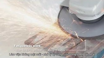 Máy mài góc Bosch GWS 20-180 Professional - HEAVY DUTY