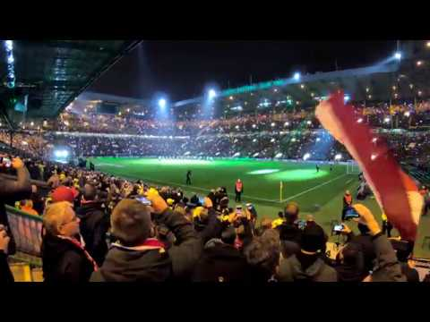 CELTIC  RB Leipzig A great night at Paradise