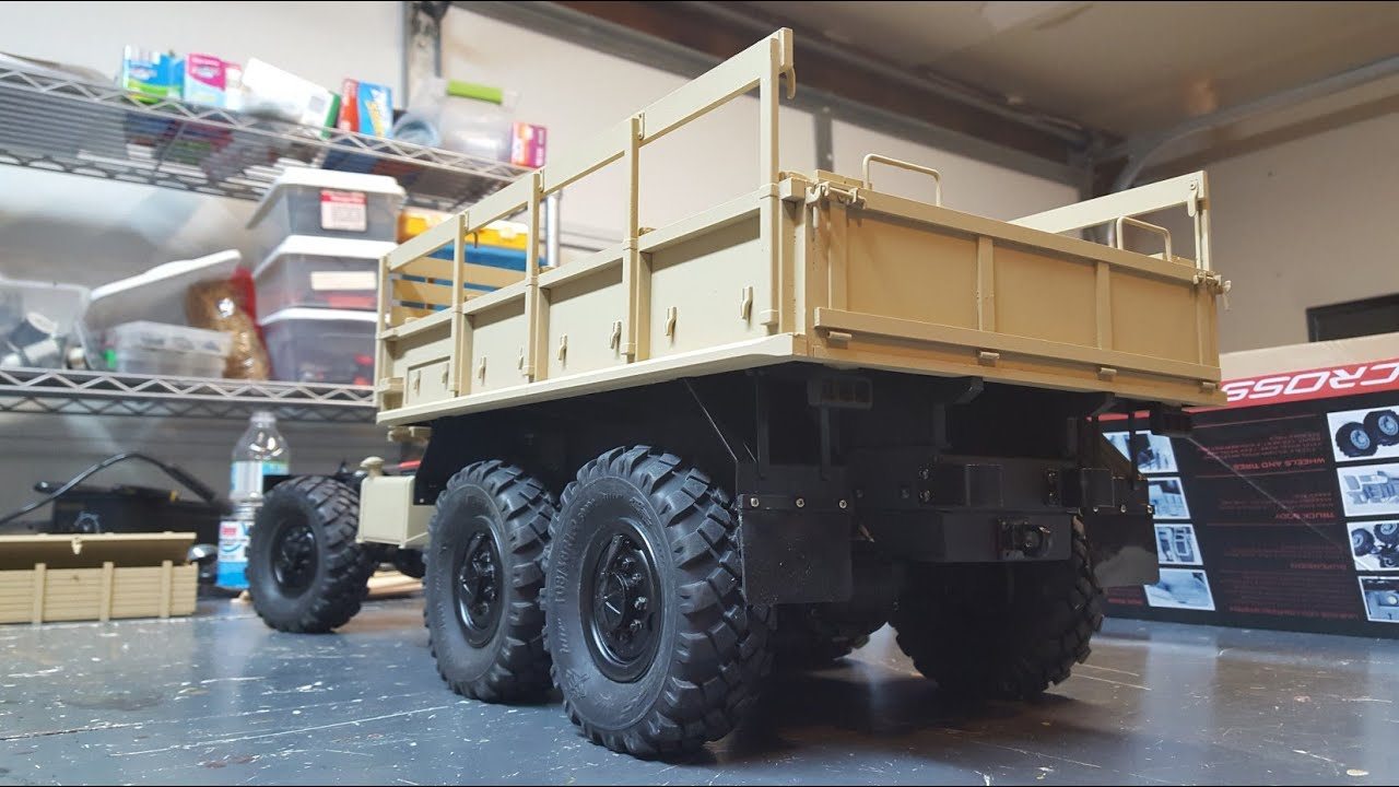 how to build a rc truck