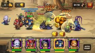 Heroes Charge: Cursed City 6 - Level 86 3-Star Easy Walkthrough