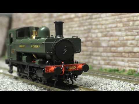Heljan class 1366  Pannier tank review