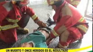 MOVIMIENTO TELURICO DE 7.4 GRADOS EN ESACALA DE RICHTER DEJA COMO SALDO UN MUERTO Y ONCE HERIDOS.mpg