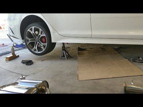 Agency Power Exhaust Install – Kia Stinger GT – Part 1 – Removal