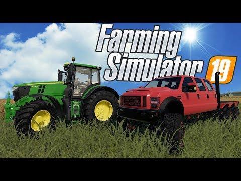 FARMING OLYMPIC GAMES & 6X6 FORD TRUCKS!