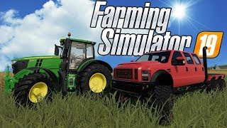 FARMING OLYMPIC GAMES & 6X6 FORD TRUCKS! - Farming Simulator 19 Multiplayer Mod Gameplay
