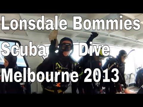 Lonsdale Bommies Scuba Dive. Melbourne, Australia. February 2013 HD