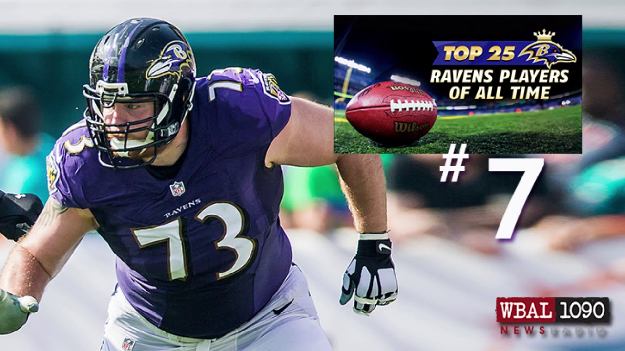 The Top 25 Ravens Players All Time 7 Marshal Yanda