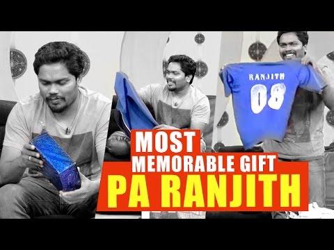 Most Memorable Gift, Director Pa Ranjith | Puthuyugam TV