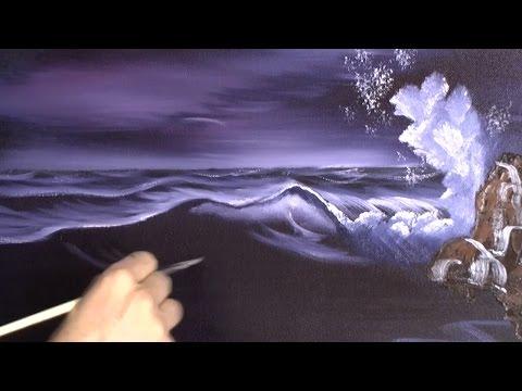 Purple Sea - Painting Lesson