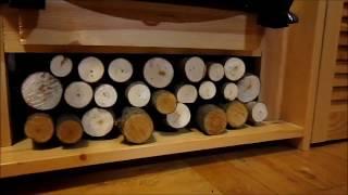 Как Сделать Самодельную Дровницу для Электрокамина Своими Руками(Как сделать своими руками имитацию дровницы для электрокамина Подробности на сайте http://Sekret-mastera.ru., 2012-10-08T20:11:47.000Z)