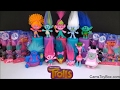 Dreamworks Trolls Complete Collectible Figures Series 4 Blind Bags Surprise Toys Review Fun Poppy