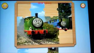 Thomas and Friends Puzzle Game ipad mini