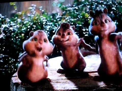 Alvin and the chipmunks funkytown movie version
