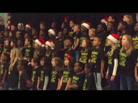Widewater Elementary School Chorus 2017 - Let's make it shine