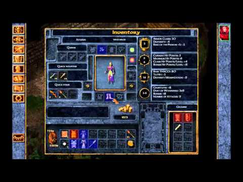 Baldur's Gate: Enhanced Edition Level 1 Mage Solo Full Game