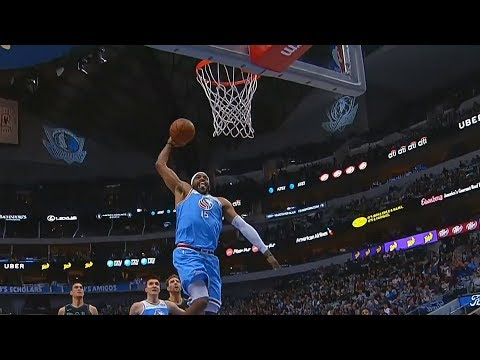Vince Carter Amazing Dunk at the age of 41!