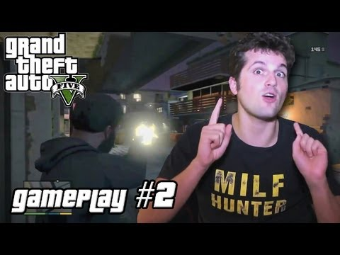 GTA V - GAMEPLAY #2 [FRANK MATANO]