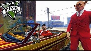 GTA V Online - LOS NIGGIS DE LA CIUDAD XD - NexxuzHD