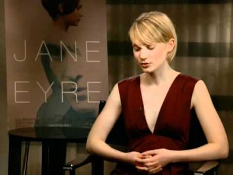 Mia Wasikowska Interview for Jane Eyre