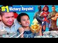 Download 1 KILL = 1 BATTLE PASS SKIN FOR MY 9 YEAR OLD BROTHER! 9 YEAR OLD PLAYS SOLO FORTNITE BATTLE ROYALE!