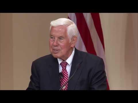 Senator Richard Lugar Calls Partisan Atmosphere