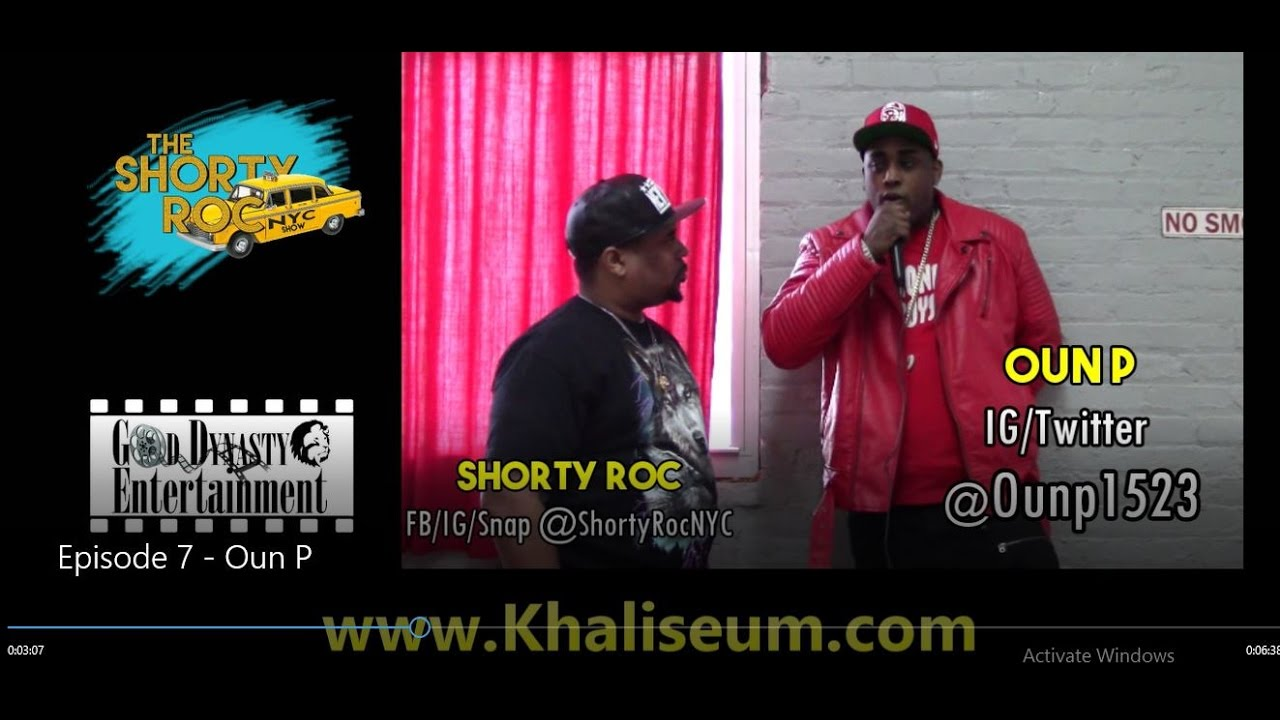 The ShortyRocNYC Show EP6: Oun P Speaks on Beef with Lil Yachty & Bow Wow, Iverson 97, & Mor