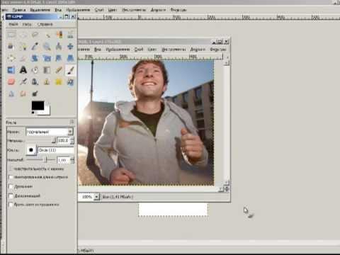 Как сделать картинку для группы Вконтакте в Gimp