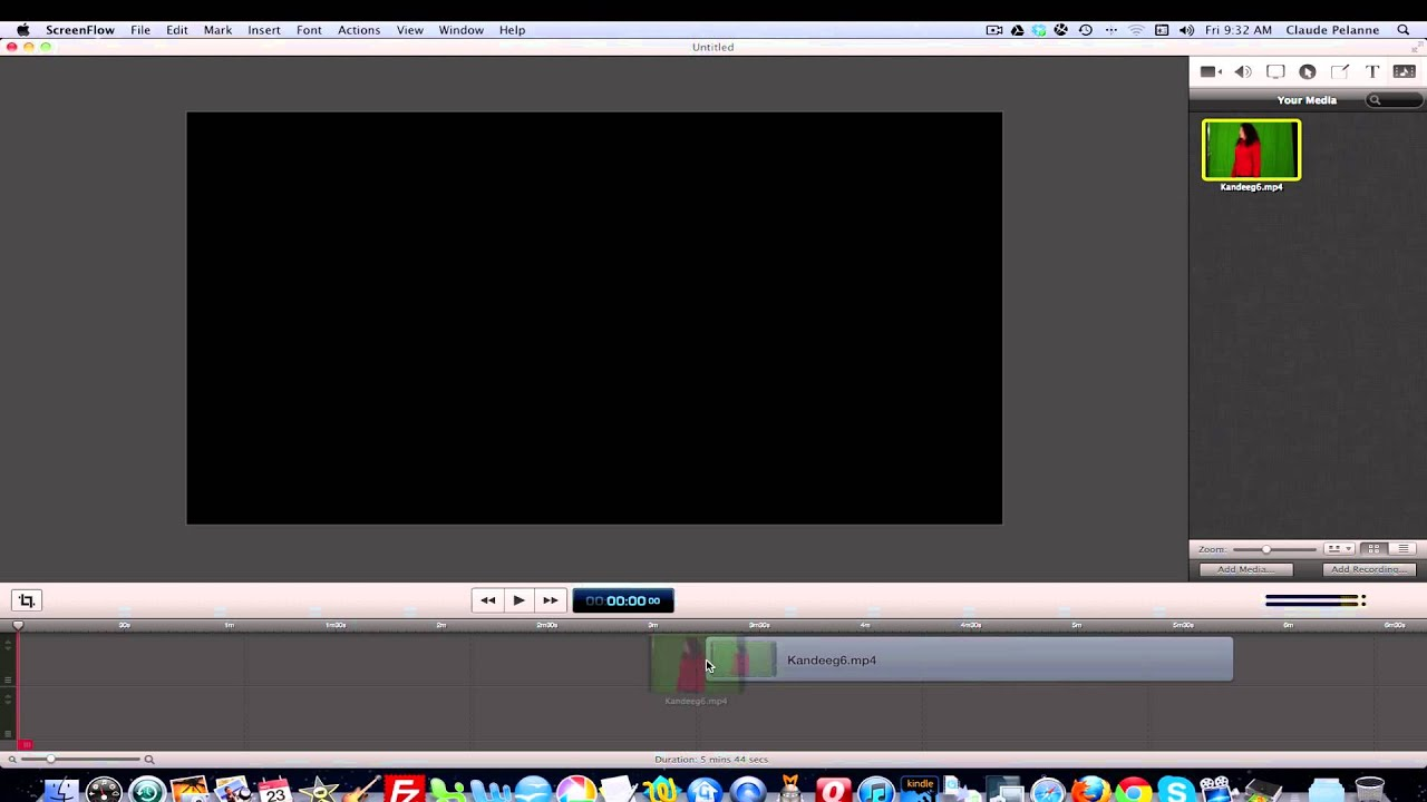 How to Detach Audio on an MP4 file in Screenflow - YouTube