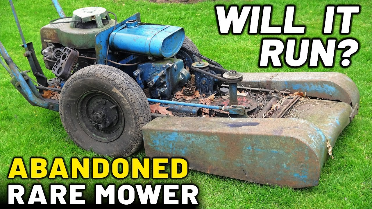 Will It Run? Abandoned 1966 Rare Mower