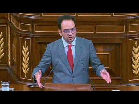 ANTONIO HERNANDO (PSOE) - Discurso en INVESTIDURA de RAJOY (27/10/2016)