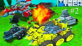 Игровой мультик TerraTech  # 2  про боевые машинки конструируется как лего Машины. танки. самолеты.(В игре вы создаете и управляете уникальными боевыми машинками, танками и самолетами и сражаетесь с врагами..., 2016-10-08T03:51:51.000Z)