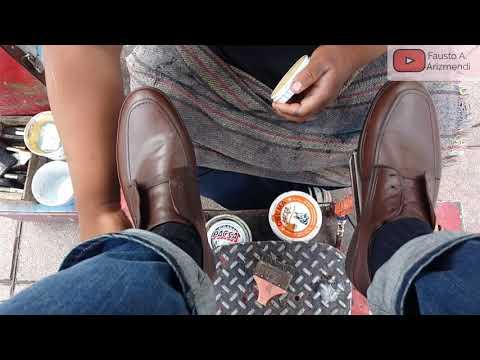 S2E73 Relaxing Shoe Shine Cuautitlan Mexico/lustrada Relajante Cuautitlan Mx ASMR