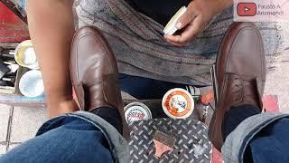 S2E73 Relaxing shoe shine cuau…