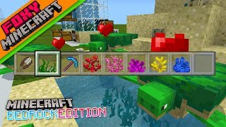 Tutorial | SEA GRASS FARM | Minecraft Bedrock Edition How To
