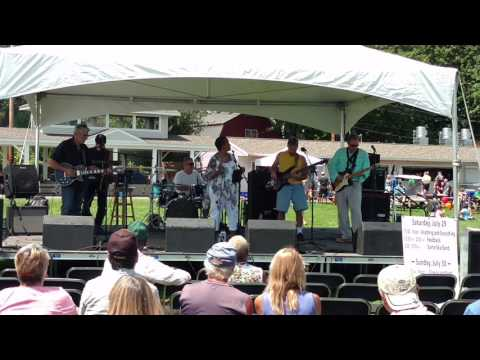 "Feedback Band Hamlin ""Take Me To The River"" Canal Days Spencerport 2017"
