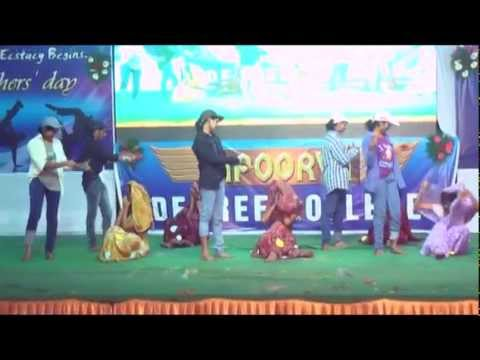 Lotta Chempla Most Hilarious and Funny Telugu Song - AADYA-2014 - Apoorva College Freshers' Day