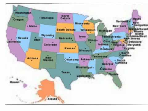 50 States by Region Song - YouTube