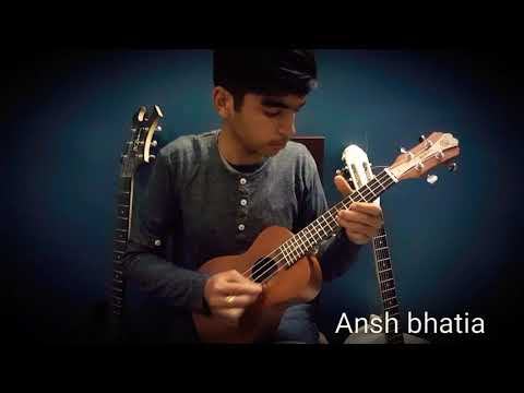 Tujhe dekha to yeh jaana sanam tabs in ukulele DDLJ FOR BEGINNERS
