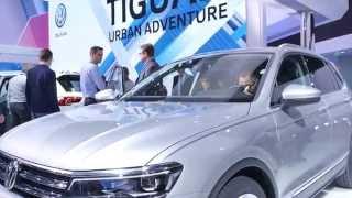 Новый Volkswagen Tiguan // Франкфурт 2015 // АвтоВести Online(Павел Блюденов об абсолютно новом Volkswagen Tiguan, представленном на международном автосалоне во Франкфурте...., 2015-09-15T11:17:51.000Z)