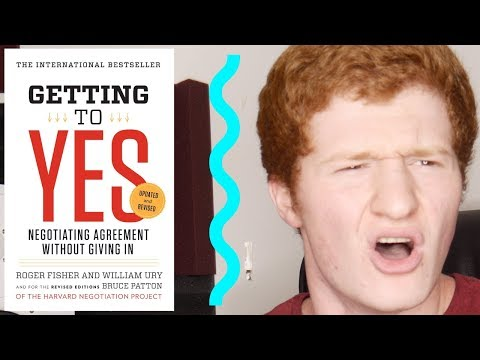 """""""Getting To Yes"""" By Roger Fisher & William Ury 