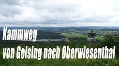 Kammweg Wanderung Juni 2018 von Geising nach Oberwiesenthal