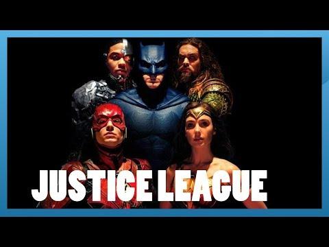 Justice League - Menu Popcorn
