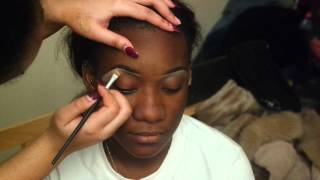 Step by step Eyebrow routine ft Miss Teni Fashanu