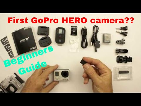 First GoPro HERO camera?   A New Users guide to the first 6 things you need to do.