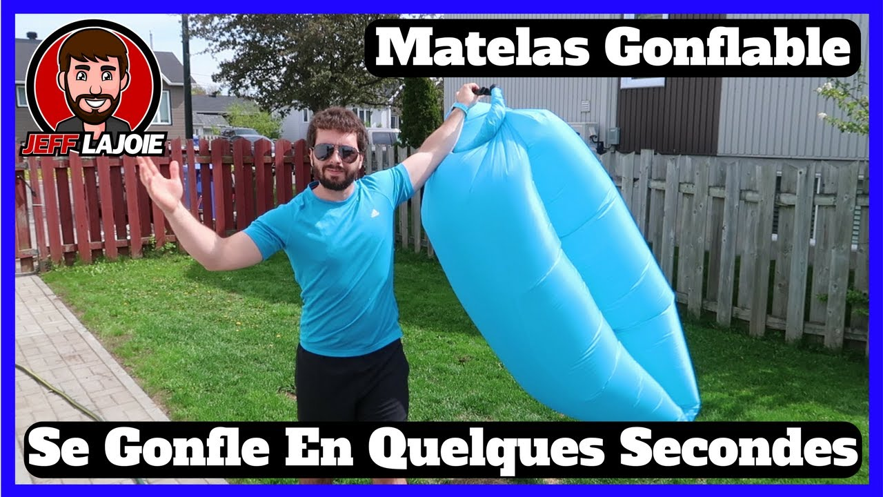 Air Sofa Lit Canapé Matelas Gonflable Qui Se Gonfle En 5