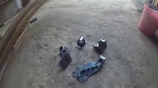 Самодельные подушки двигателя ваз 08