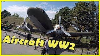 Exploring Soviet Military Transport Aircraft Li 2. Inside Military Aircraft WW2 2018.