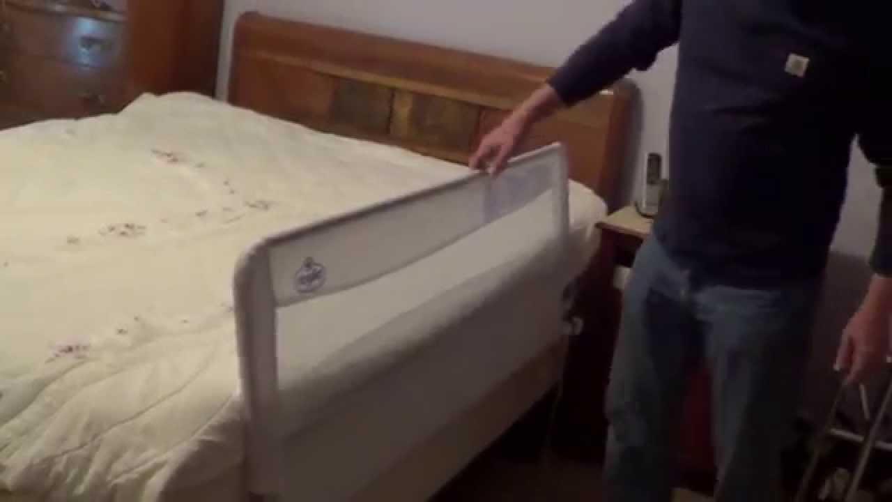 Bed Rails for Seniors - YouTube